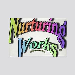 Nurturing Works Rectangle Magnet