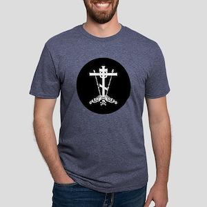 Russiancross Mens Tri-blend T-Shirt