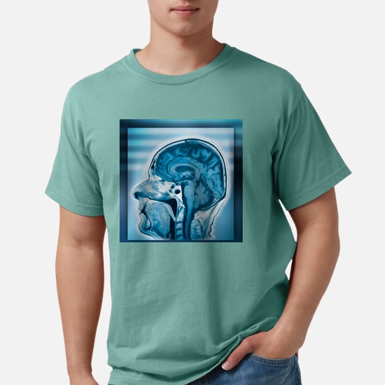 Normal head and brain, M Mens Comfort Colors Shirt
