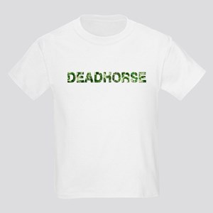 Deadhorse, Vintage Camo, Kids Light T-Shirt