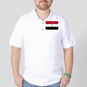 Egypt Flag Picture Golf Shirt