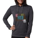 I Put the Her in Hero Proud AR Womens Hooded Shirt