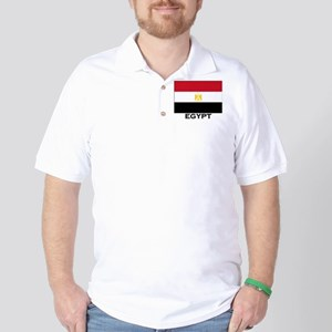 Egypt Flag Stuff Golf Shirt