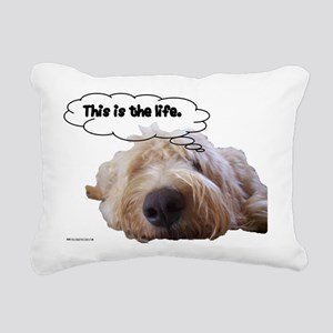 This is the life Rectangular Canvas Pillow