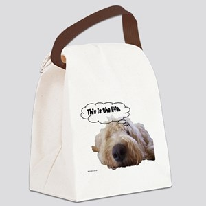 This is the life Canvas Lunch Bag