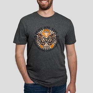 Multiple-Sclerosis-Butterfl Mens Tri-blend T-Shirt