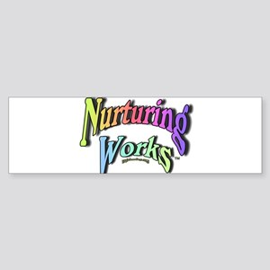 Nurturing Works Sticker (Bumper)