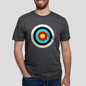 Archery Target Mens Tri-blend T-Shirt