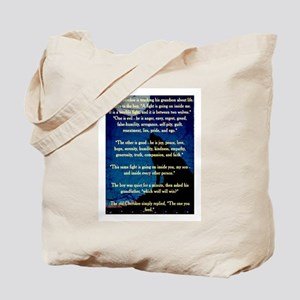 CHEROKEE LESSON Tote Bag