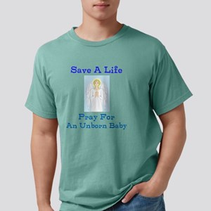 Save Unborn Baby Mens Comfort Colors Shirt
