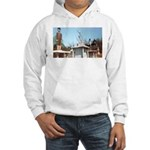 Three Statues Hooded Sweatshirt