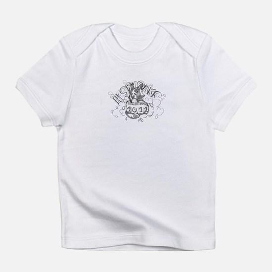 blackwhite winning logo 2012 Infant T-Shirt