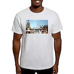 Three Statues Ash Grey T-Shirt
