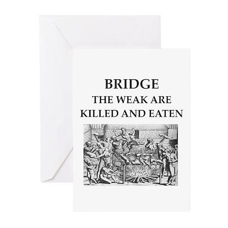 duplicate bridge Greeting Cards (Pk of 20)