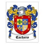 Cachero Coat of Arms Small Poster