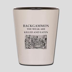 BACKGAMMON Shot Glass