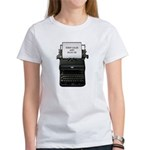 Keep Calm and Blog On Women's T-Shirt