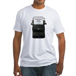 Keep Calm and Blog On Fitted T-Shirt