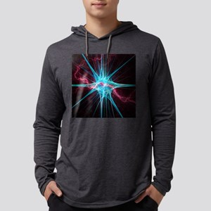 Nerve cell, artwork Mens Hooded Shirt