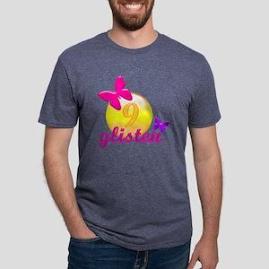 glisten9 Mens Tri-blend T-Shirt