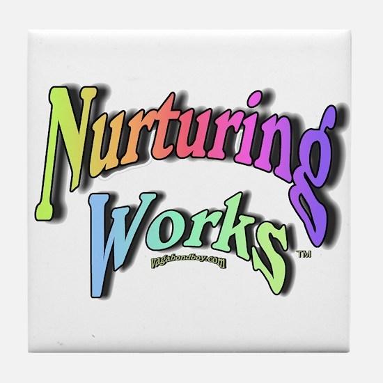 Nurturing Works Tile Coaster