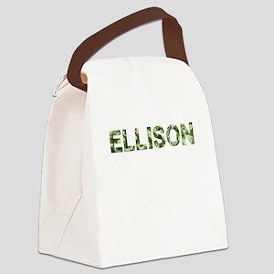 Ellison, Vintage Camo, Canvas Lunch Bag