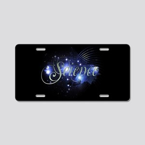 Pleiades Aluminum License Plate
