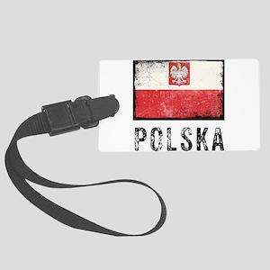 Grunge Polska Large Luggage Tag
