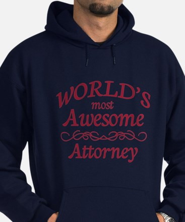 Awesome Attorney Hoodie (dark)