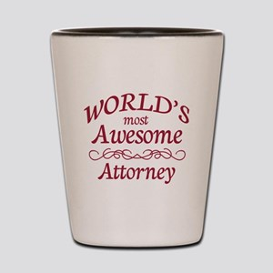 Awesome Attorney Shot Glass