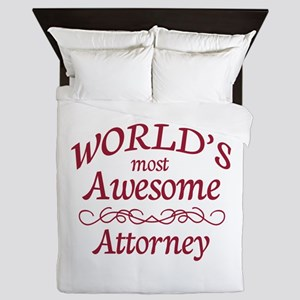Awesome Attorney Queen Duvet