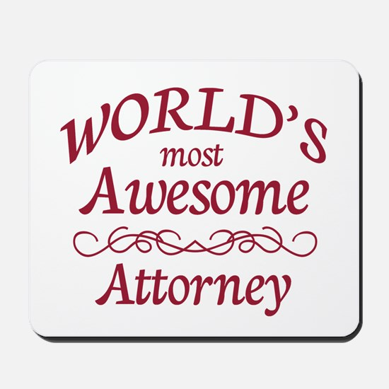Awesome Attorney Mousepad