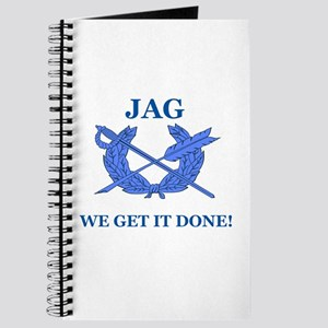 JAG WE GET IT DONE Journal