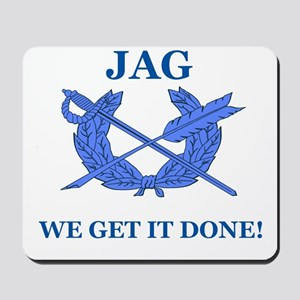 JAG WE GET IT DONE Mousepad