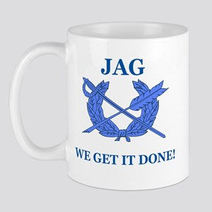 JAG WE GET IT DONE Mug