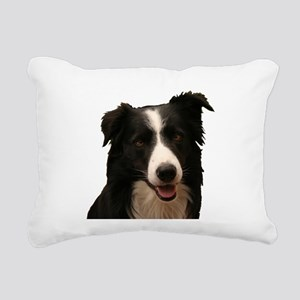 Border smile Rectangular Canvas Pillow
