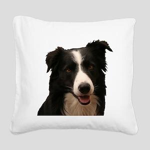 Border smile Square Canvas Pillow