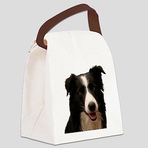 Border smile Canvas Lunch Bag