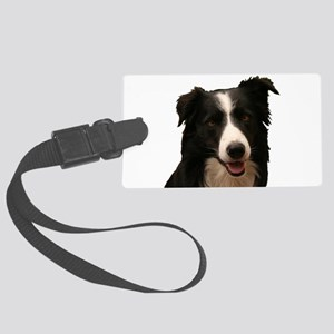 Border smile Large Luggage Tag