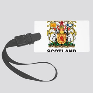 Scotland Large Luggage Tag