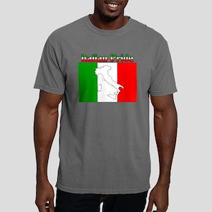 Italian Pride black Mens Comfort Colors Shirt