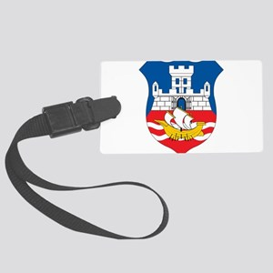 Beograd Coat Of Arms Large Luggage Tag