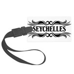Tribal Seychelles Large Luggage Tag