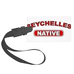 Seychelles Native Large Luggage Tag