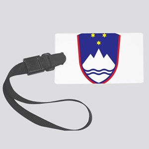 Slovenia Coat Of Arms Large Luggage Tag