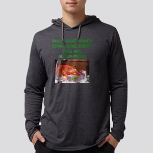 bulls and bears Mens Hooded Shirt
