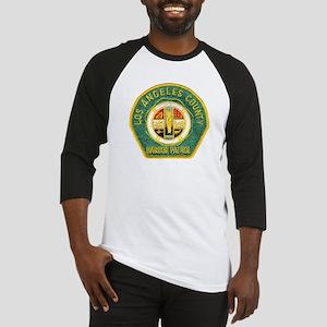 L A County Harbor Patrol Baseball Jersey