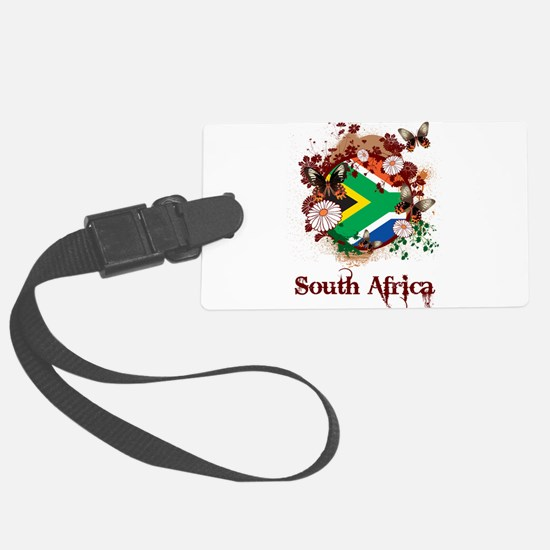 Butterfly South Africa Luggage Tag