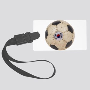 South Korea Football Large Luggage Tag