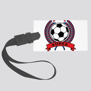 Football Korea Large Luggage Tag